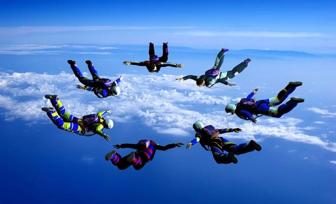 parachutisme pro