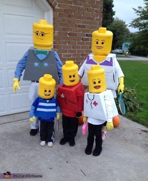 famille lego