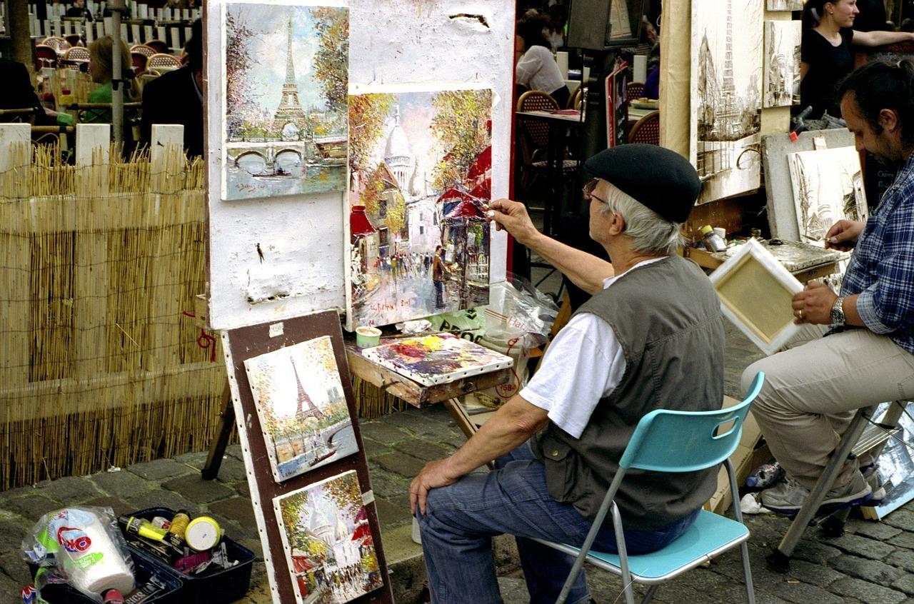 sidewalk-painters-1253239_1280