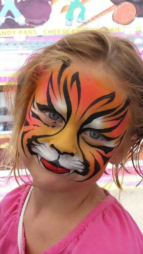 Little Girl Face Painting Ideas