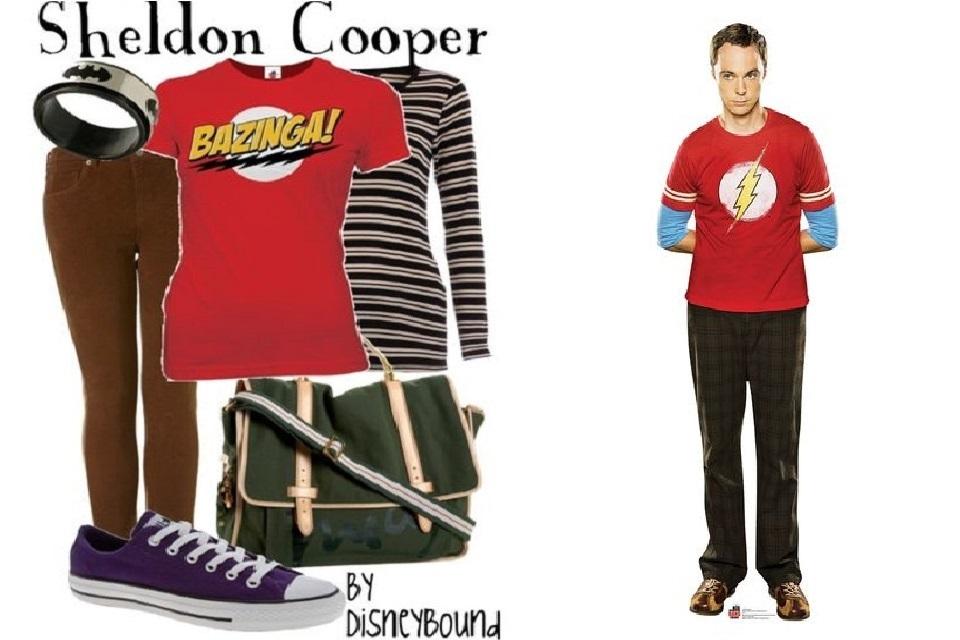 Sheldon cooper tenue