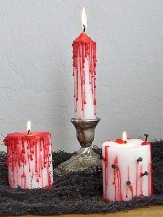 bougies sang