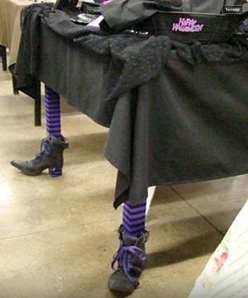 table sorcière