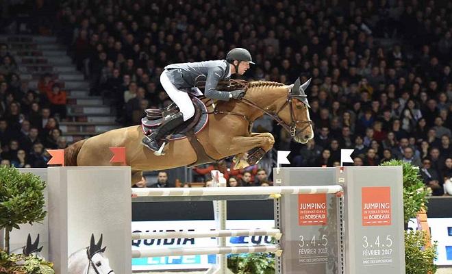 Jumping International de Bordeaux 2016 , 6 fevrier , Prix LONGINES FEI WORLD CUP, csi w EPREUVE n4, kevin staut