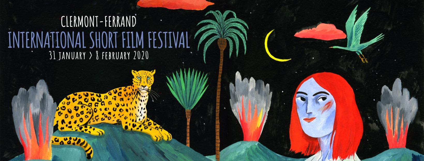 Affiche Festival international de court métrage de Clermont-Ferrand