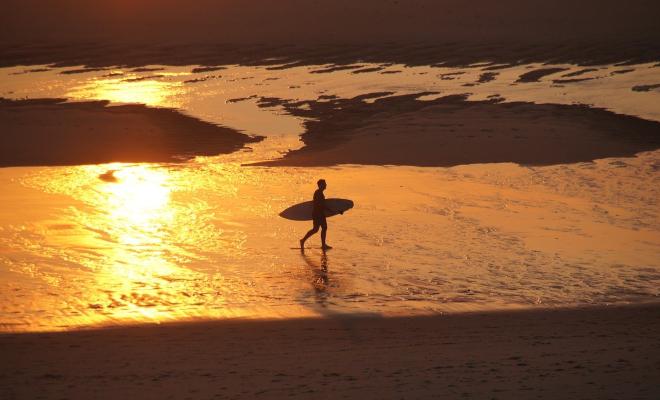 spots surf landes