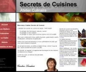 Secrets de cuisines, atelier culinaire caroline livadar