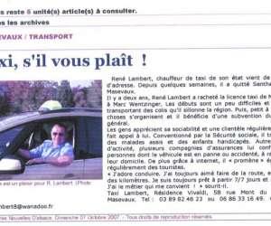 Rene lambert  taxis