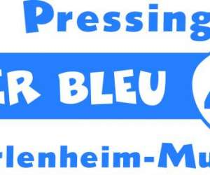 Pressing  fer  bleu