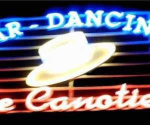 Le canotier dancing retro