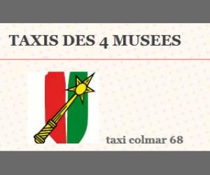 Les taxis des 4 musées