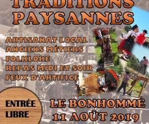 """Comité des fêtes du bonhomme - """"  38ièmes traditions pa"""