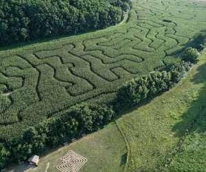 Labyrinthe geant des 7 vallees
