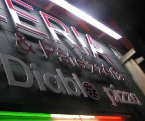 Diablo pizza snack pizzeria