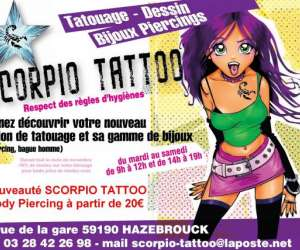 photo Scorpio Tattoo