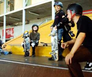 Skate park de la halle de glisse