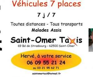 Saint omer taxis herve dubois
