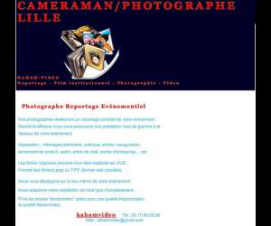 kaham-video - cameraman - photographe - realisateur