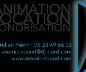 Atomic sound sonorisation animation location