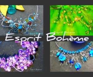 esprit bohème     création de bijoux  artisanaux