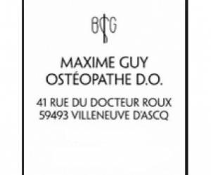 Maxime guy osteopathe d.o.