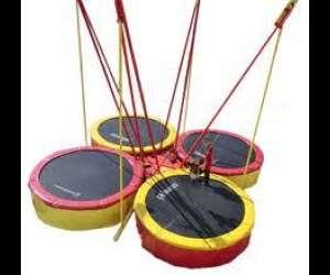 Trampolines elastiques