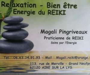 Magali praticienne de reiki coach en bien etre