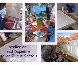 Atelier 71, atelier galerie de fréd depienne