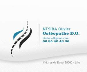 Olivier ntsiba ostéopathe d.o. à lille