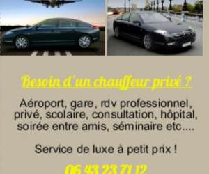 Chauffeur luxe service