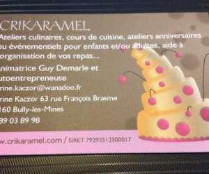 Les ateliers culinaires de crikaramel