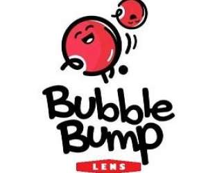 Bubble bump lens