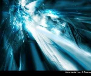 Au brillant bleu