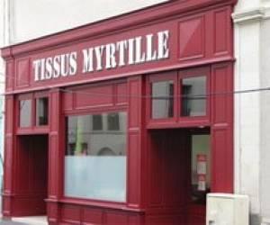 Tissu myrtille