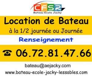 bateau ecole cfsr jacky - location de bateau -