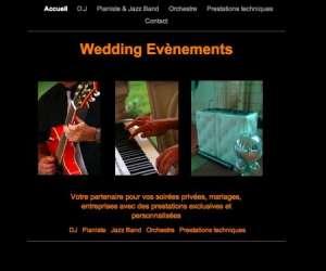 Wedding evenements