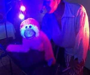 spectacle à domicile pour enfants ,clown-magicien-mari