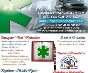Anjou sos animalier - ambulances taxi animalieres