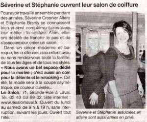 Le salon séverine & stéphanie