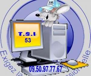 T. s. i. 53 . informatique  - réparation d