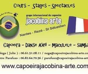 Capoeira jacobina arte