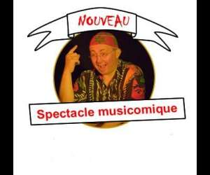 Spectacle musicomique -  hugues chesneau