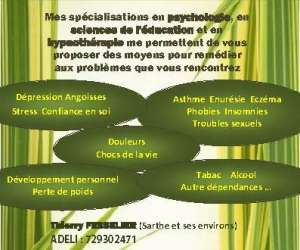 Psychologue hypnothérapeute