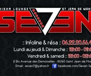 Seven7. bars a shisha saint jean de monts