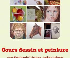 Stéphanie lécuyer artiste peintre -  ecole d