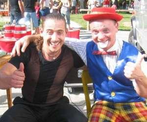 Dédé le clown, magicien