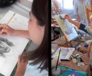 Atelier dessin peinture vitacolora