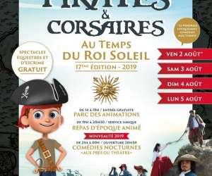 """Festival """"pirates et corsaires au temps du roi-soleil"""""""