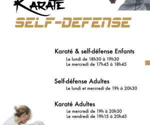 Asptt laval karaté self-défense