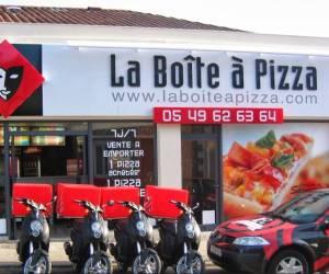 La boîte à pizza